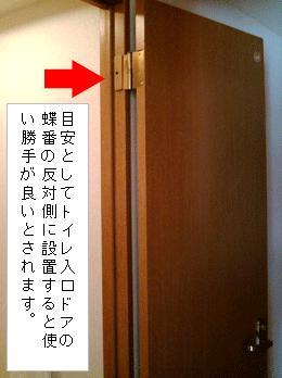 トイレドアの写真