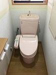 トイレ LIXIL 交換前