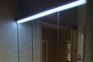 洗面台・TOTOオクターブのLED照明