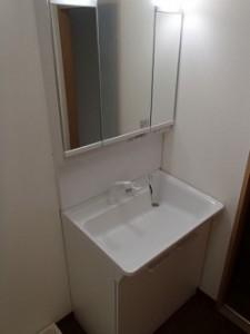 洗面台の間口幅について