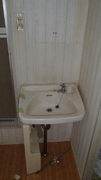 賃貸物件の洗面台リフォーム