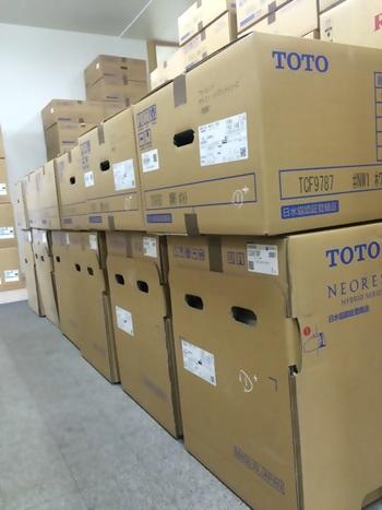 TOTO新商品が大人気です