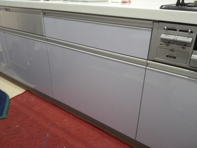 ファーストプラス社製キッチンのビルトイン食洗機設置は!?