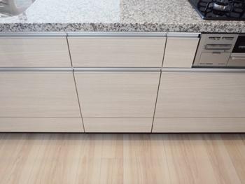 下部収納を残したまま、ビルトイン食洗機を新規設置!
