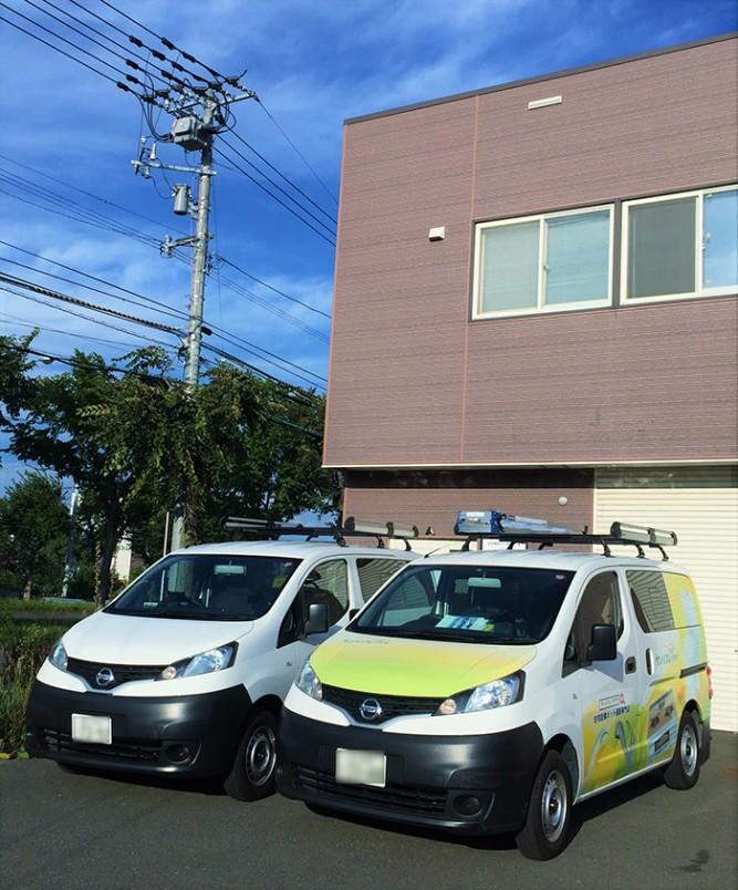 札幌営業所が新規オープン! トイレ+クッションフロア張替工事の事例をご紹介します。