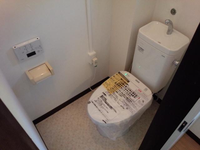 隅付きトイレからのグレードアップ!