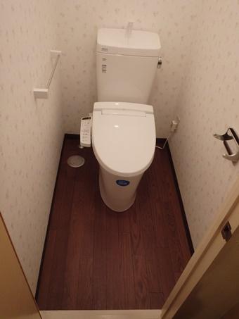 トイレ交換と一緒に「壁紙」も張り替えませんか?