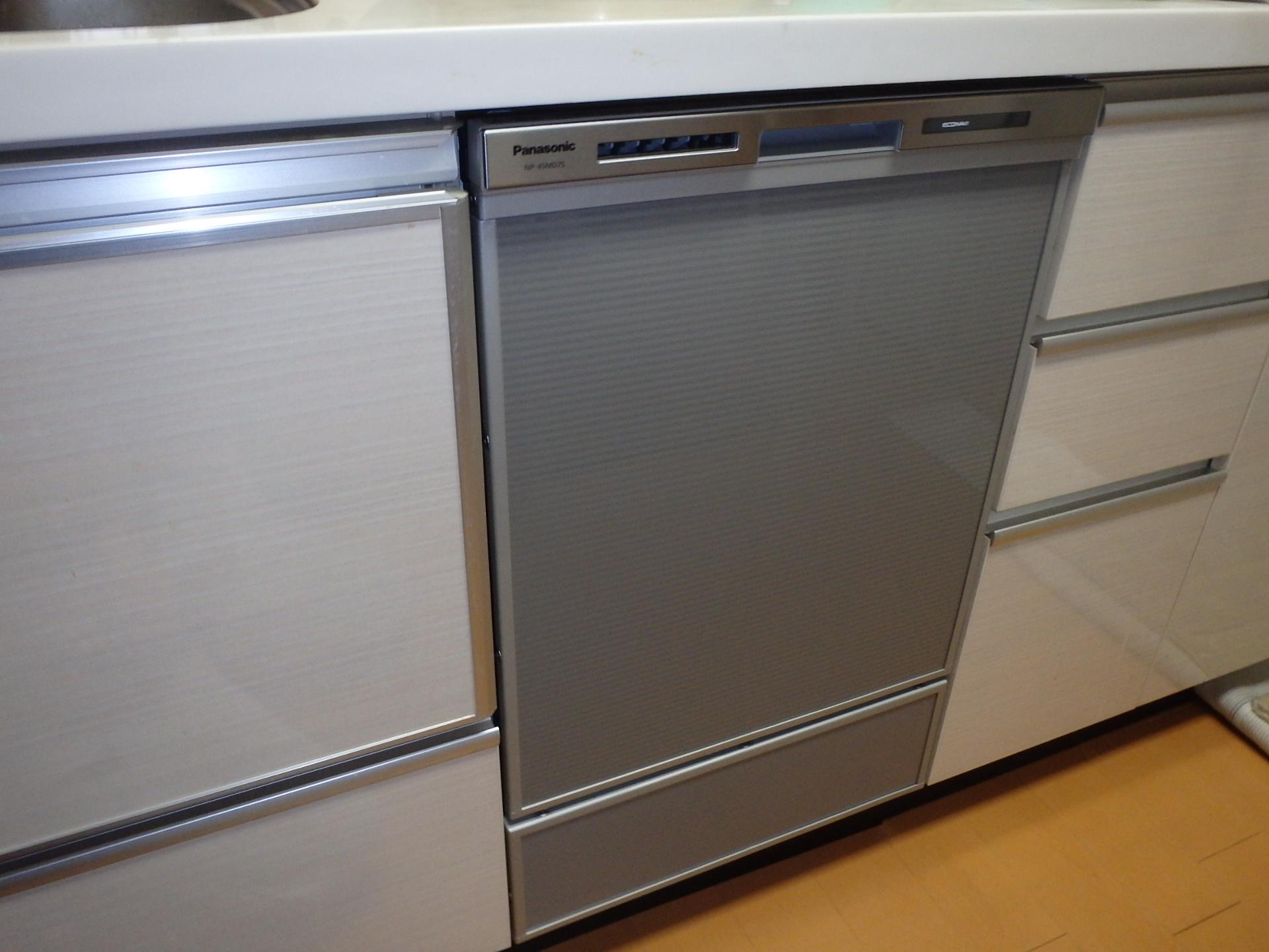 ビルトイン食洗器の容量アップ!