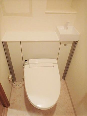 トイレのコンセント移設