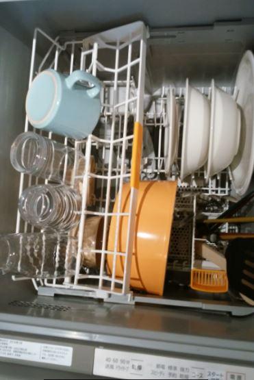 食洗機の収納力について