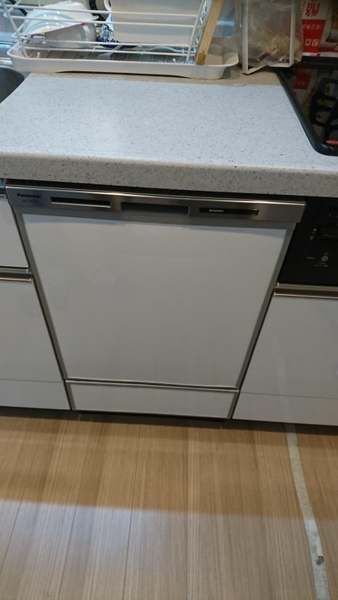 ビルトイン食器洗い乾燥機~今は付いていなくても専用設備があるケース~