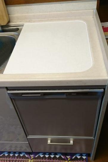 トップオープン食洗機からパナソニックミドルタイプへの交換