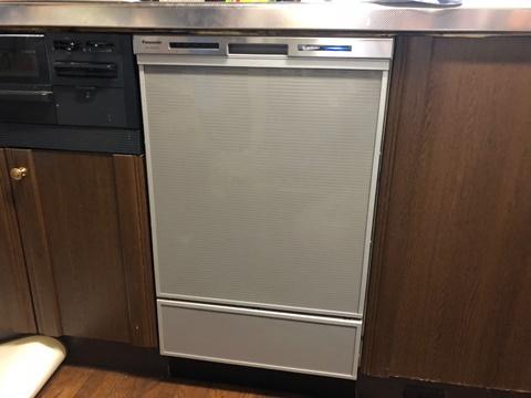 パナソニック ビルトイン食洗機の交換実例をご紹介