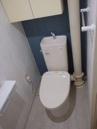 トイレ内の柱型(立管)について