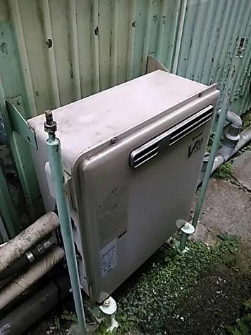 追焚付きふろ給湯器の交換工事の様子をご紹介!