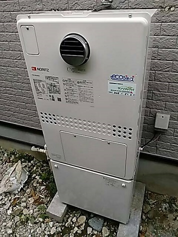 ガス給湯暖房熱源機の施工事例のご紹介