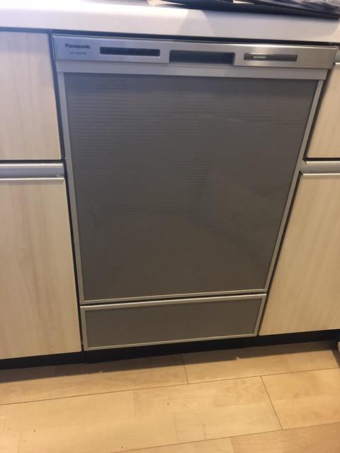 ビルトイン食洗機新規設置事例のご紹介