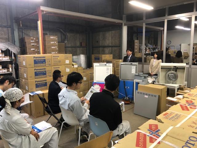 富士工業 レンジフード研修会