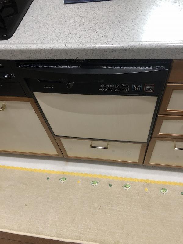 ビルトイン食洗機交換 施工現場のご紹介