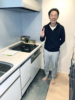 ビルトイン食洗機の新規設置現場のご紹介 vol.2