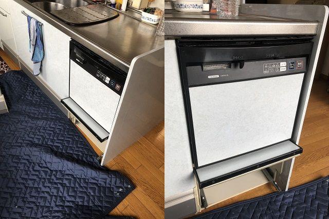 ビルトイン食洗機交換工事事例のご紹介