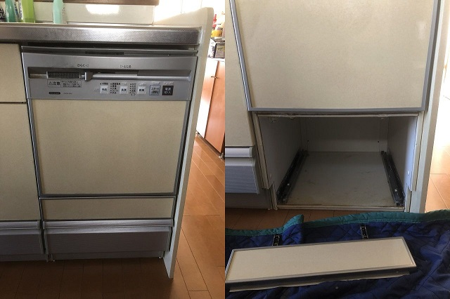 食洗機交換 現場のご紹介