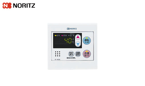 RC-7607M|ノーリツ 給湯器 台所リモコン |壁掛タイプ用:給湯専用