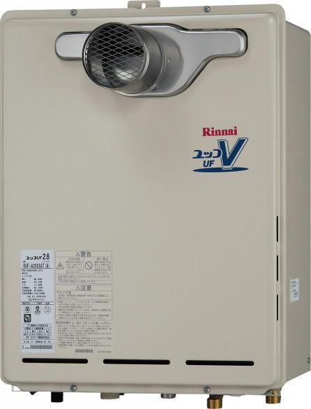 RUF-A1615SAT(B)|リンナイ ガス給湯器 |PS扉内設置・PS前排気型(排気延長不可タイプ)