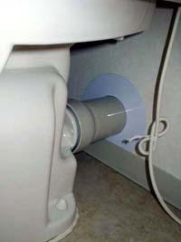 壁排水式トイレ