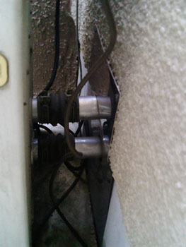 屋外隣接型接続部分