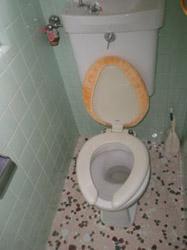 古くなったトイレ