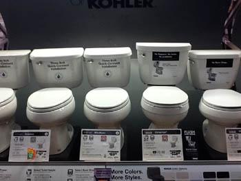 アメリカ トイレ