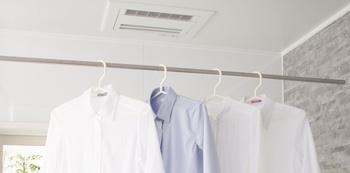 実は一年中活躍の優れもの・浴室暖房乾燥機
