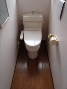 千葉県千葉市/A.K様 トイレリフォーム施工事例(交換前のトイレです)