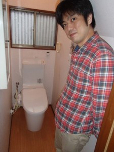 千葉県千葉市/A.K様 トイレリフォーム施工事例(この度は交換できるくんにご依頼頂きましてありがとうございました!)