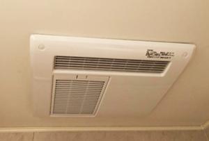 浴室乾燥機/三菱電機 天井埋込み型浴室換気暖房乾燥機 100V 2室換気/V-122BZ2+P-123SWL2