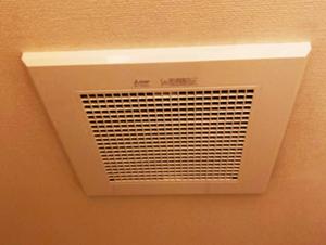 換気扇/三菱電機 天井埋込換気扇 (浴室・トイレ・洗面・居室) 1室換気/VD-13ZCD12