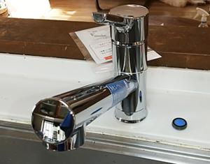 蛇口/LIXIL(INAX)キッチン用水栓 クロマーレS(エコハンドル)/SF-WM420SYX(JW)