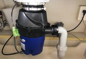 ディスポーザー/フロム工業 ディスポーザー YS-8100 [手動給水/水栓分岐給水] [蓋スイッチ]/YS-8100