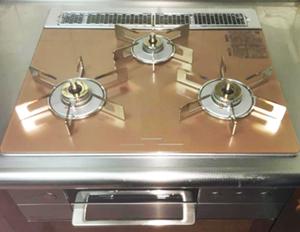ビルトインガスコンロ/リンナイ ビルトインガスコンロ『デリシア3V乾電池タイプ』[天板幅60cm] [天板カラー:ス パークリングカッパー]/RHS31W31E12RCSTW(12A13A)