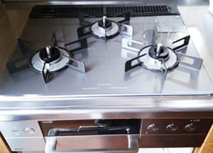 ビルトインガスコンロ/リンナイ ビルトインガスコンロ『デリシア3V乾電池タイプ』[天板幅60cm] [天板カラー:ツイードシルバー]/RHS31W30E15RCSTW(LPG)