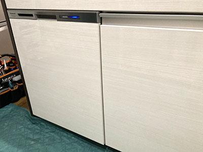 食洗機 パナソニック M9シリーズ・ミドルタイプ ドア面材型 NP-45MS9W