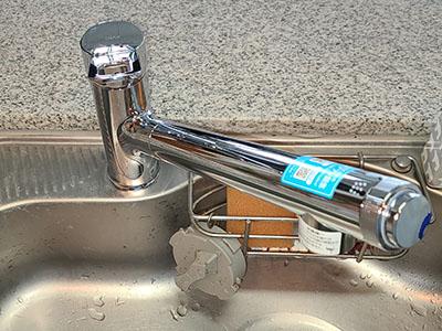 蛇口 LIXIL(INAX)キッチン用水栓・浄水カートリッジ内蔵型オールインワン浄水栓 AJタイプ JF-AJ461SYX(JW)