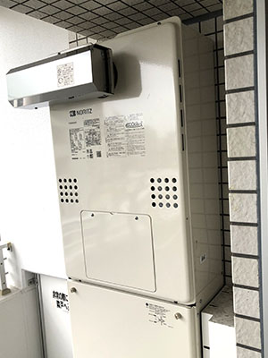 給湯器 ノーリツ フロ給湯熱源給湯器・エコジョーズ・24号・フルオート GTH-C2461AW3H-L_BL