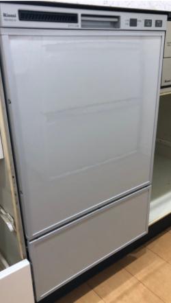 リンナイ ビルトイン食洗機 フロントオープンタイプ(シルバーフェイス) 幅45cm 奥行60cm[OS]RSW-F402C-SV