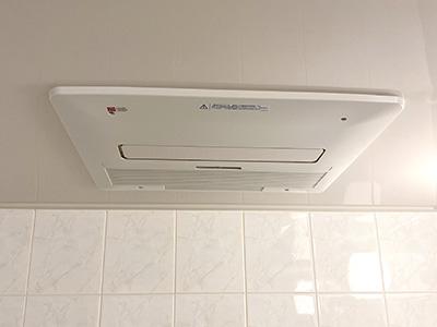 浴室乾燥機 ノーリツ ガス温水式浴室暖房乾燥機 1室換気・暖房能力4.1kw BDV-4104AUKNC-BL