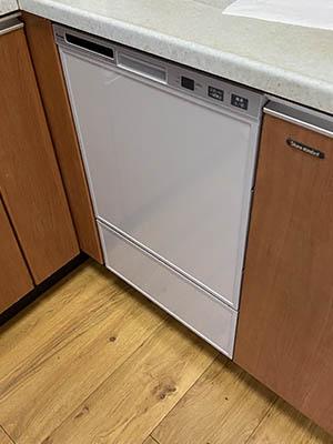ビルトイン食洗機 リンナイ フロントオープンタイプ RSW-F402C-SV