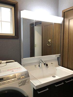 洗面台 LIXIL(INAX) ピアラ 化粧台・化粧鏡セット MAR2-903TXSU AR3H-905SFY
