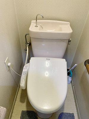 トイレ交換 施工前