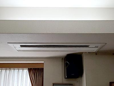 ダイキン 天井カセット形エアコン Cシリーズ・1方向送風・16畳用 S50RCV(F50RCV+R50RCV)